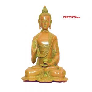 Antique Buddha Statue Handmade Sculpture