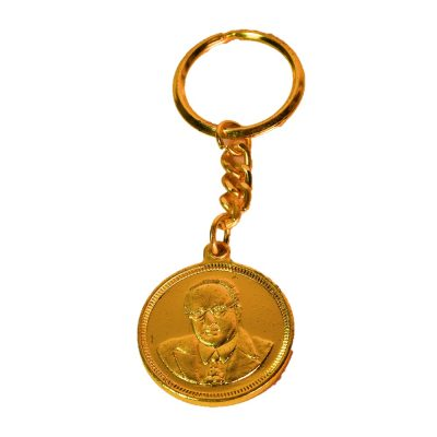 Buddha with Dr. Babasaheb Key Chain-2set