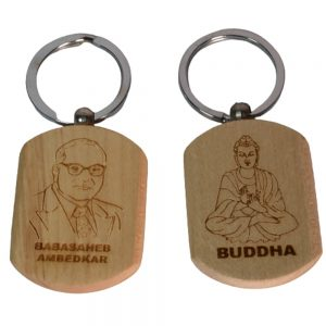 Dr.Ambedkar & Buddha key-chain 2 set