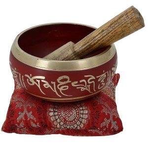 Singing Bowl Meditation Red, Blue, Green