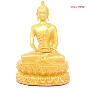 Poly resin Buddha Idol-14 cm
