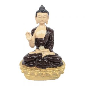 Blessing Buddha Decorative Showpiece-21cm