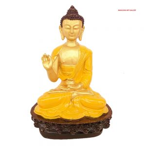 Blessing Buddha Decorative Showpiece -21cm